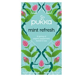 Mint Refresh the, Pukka